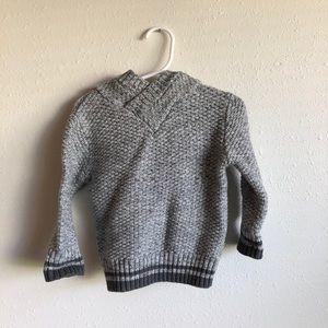 Toddler thick knit sweatshirt